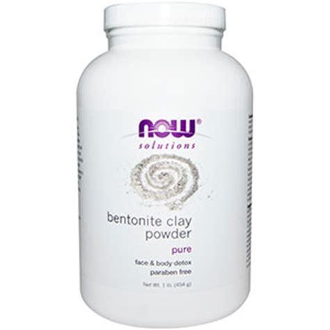 Bentonite Clay For Detox Drink by Now 174 Solutions Bentonite Clay Powder 1 Lb