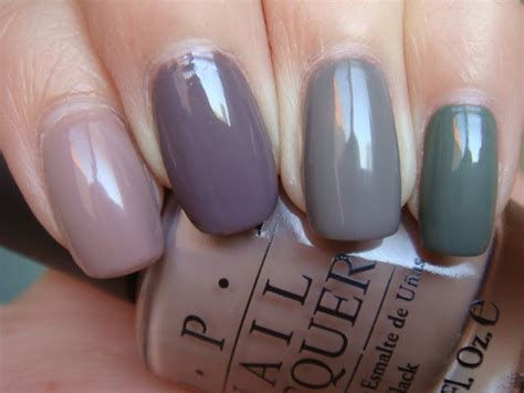 Opi Tickle My Y opi tickle my y essie merino cool essie chinchilly and essie sew psyched nails