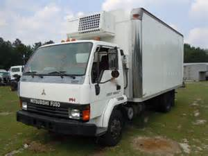 Mitsubishi Box Truck Mitsubishi Fuso Fh 1995 Refrigerated Box Truck Used