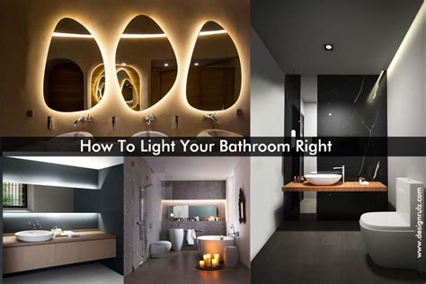 how to light a bathroom how to light your bathroom right