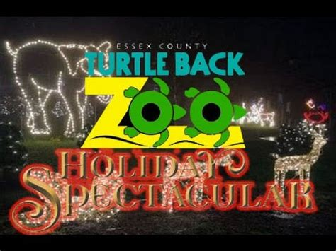 turtle back zoo holiday lights turtle back zoo holiday lights spectacular youtube