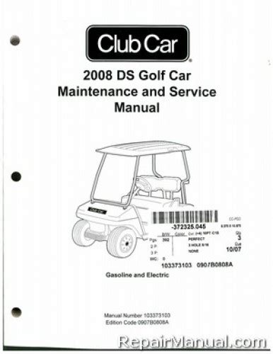what is the best auto repair manual 2008 lexus rx transmission control 2008 club car ds golf gas and electric service manual
