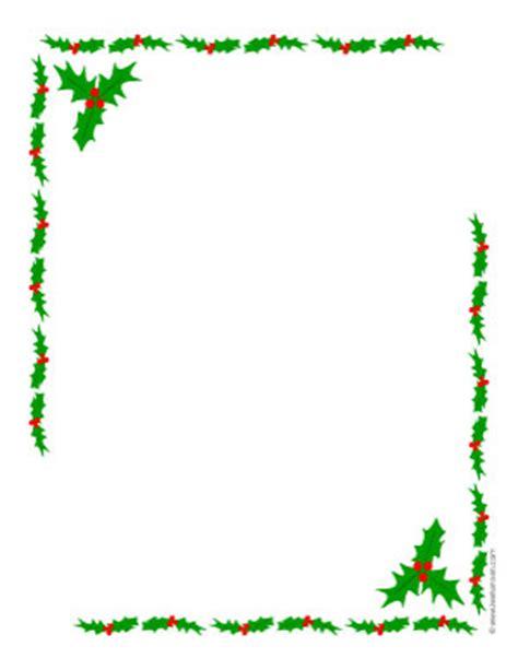 printable christmas paper frames christmas holly border new calendar template site