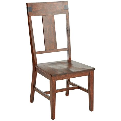On Chair - eastwood tobacco brown dining chair pier 1 imports