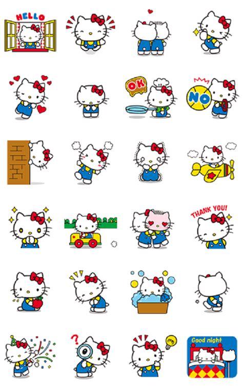 Wallpaper Sticker Hello 2 line hello sticker line hello