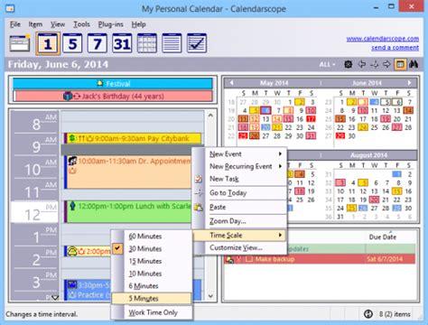 Calendarscope Review Calendarscope โปรแกรม ปฏ ท นจ ดการตารางทำงาน ฟร 9 0