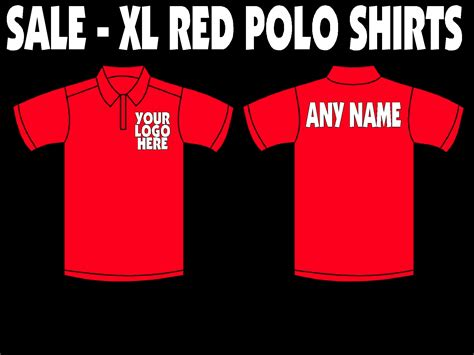 Xl Only by Design Your Own Polo Shirt Size Xl Only