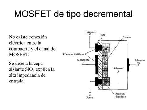transistor mosfet tipo decremental transistor mosfet tipo decremental 28 images transistor mosfet como testar o multimetro