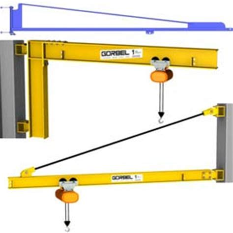 Jib Plumbing by Hoists Cranes Cranes Wall Ceiling Gorbel 174 Wall