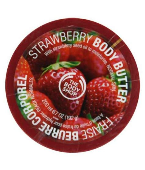 Strawberry Mist 100ml the shop strawberry butter 200ml available at