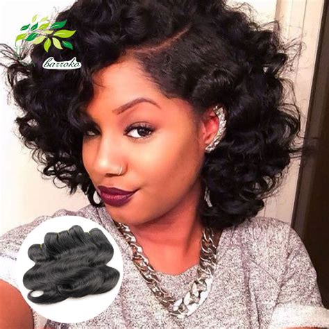 short brazilian body wave wet and wavy short hairstyles fade haircut