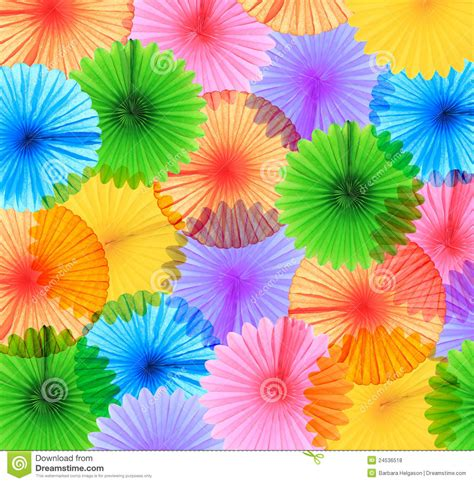 colorful paper colorful paper fans royalty free stock photos image