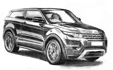 range rover evoque drawing land rover evoque by m j m a on deviantart