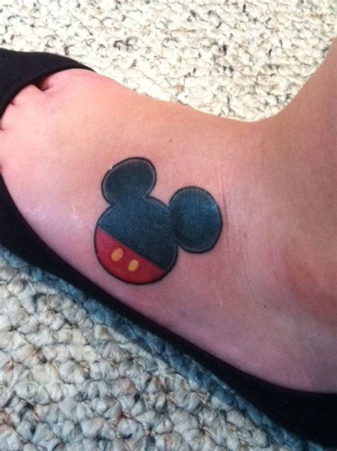mickey mouse tattoo mickey mouse tattoos