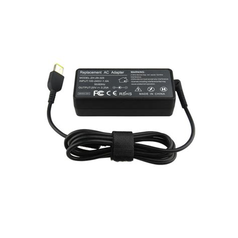 Adaptor Laptop Lenovo G400 מוצר zoolhong 20v 3 25a 65w ac laptop power adapter