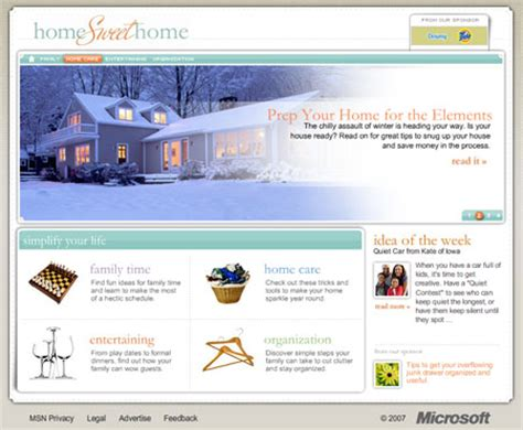 msn com msn com homesweet home developer