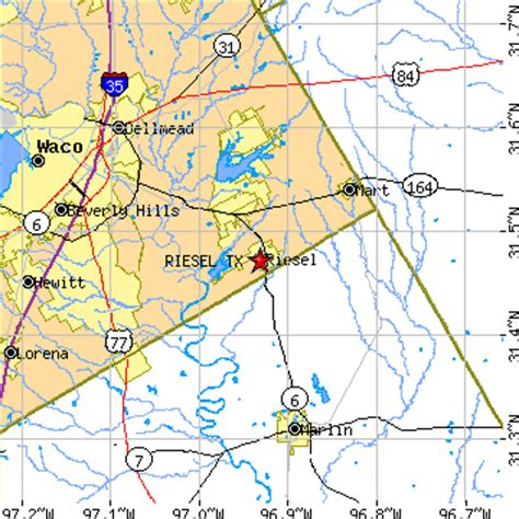 riesel, texas (tx) ~ population data, races, housing & economy