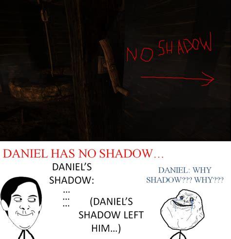 Amnesia Meme - amnesia meme daniel has no shadow by shadow chan15 on