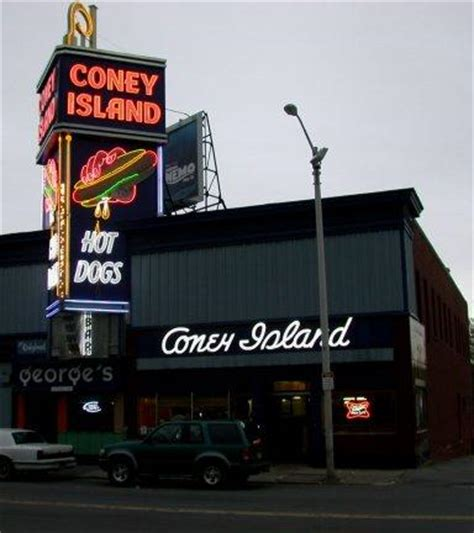 coney dogs near me george s coney island dogs roadfood