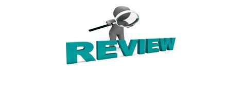 and review what makes a review effective to a consumer