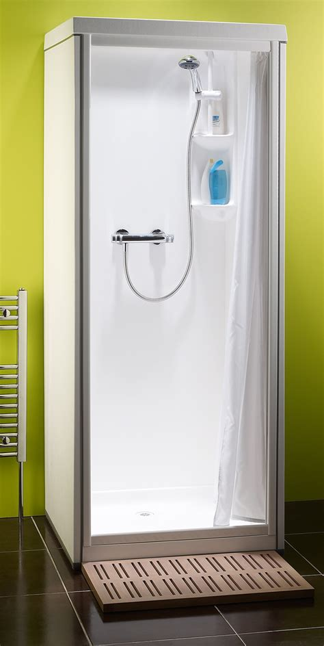 homeofficedecoration one piece shower stall with top