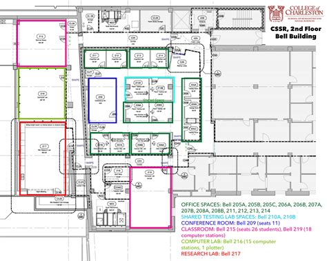 cofc cus map about the center college of charleston