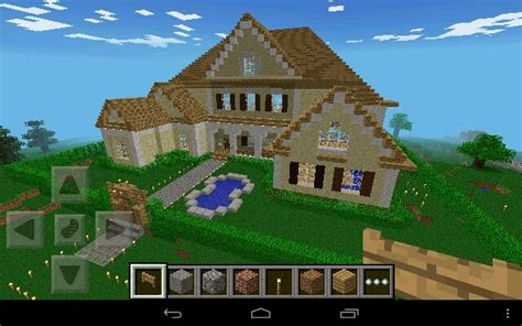 minecraft home ideas minecraft wooden house my build of the large modern house
