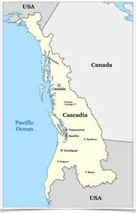 Map Of Map Of Cascadia By Althistoryguy On Deviantart