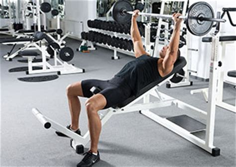 slanted bench press angled bench press how does angle of bench press affect activation