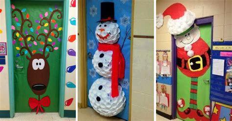 decorar puertas de navidad 10 ideas para decorar puertas escolares en navidad son