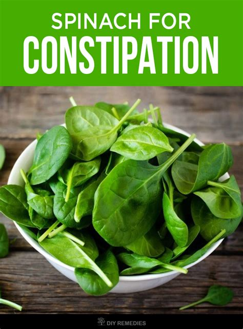 Spinach In Stool by How To Use Spinach For Treating Constipation