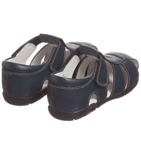 boys navy leather sandals pediped flex 1 12yr boys navy blue leather sandals