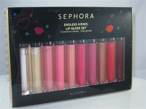 Lip Gloss Sephora sephora endless kisses lipgloss set review swatches