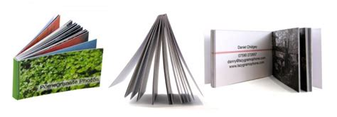 Gift Card Booklet - business card book gift ideas blog