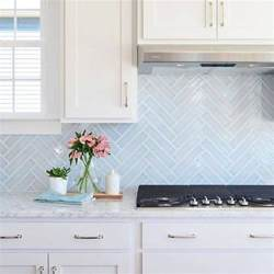 Light Blue Kitchen Backsplash by 20 Kitchen Backsplash Trends When You Re Sick Of Subway