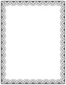 Black free downloads and page borders on pinterest