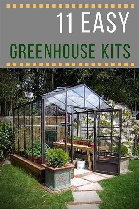 build a backyard greenhouse build your own greenhouse 11 easy to assemble kits