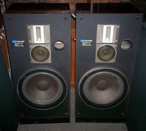 Speaker Pioneer pioneer cs 939 three way speaker system for sale canuck audio mart