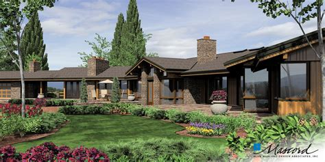 Mascord House Plan 1412   The Harrisburg