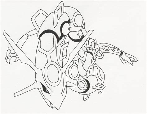 pics for gt legendary pokemon coloring pages rayquaza