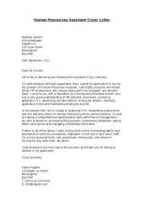 addressing a cover letter to human resources human resources assistant cover letter hashdoc