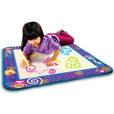 aquadoodle drawing mat aquadoodle drawing mat with neon color reveal new ebay