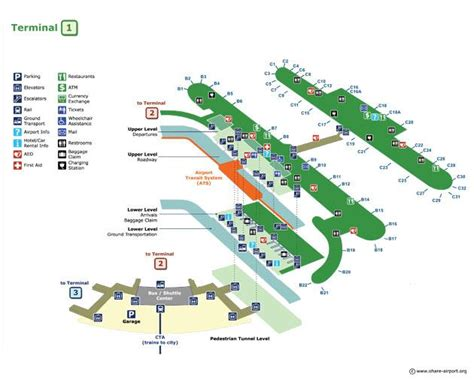 chicago airport map terminal 3 pictures for echo limousine in chicago il 60634 airports