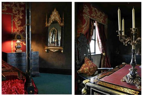 gothic style bedroom bery designs hand painted fabrics gothic style bedroom