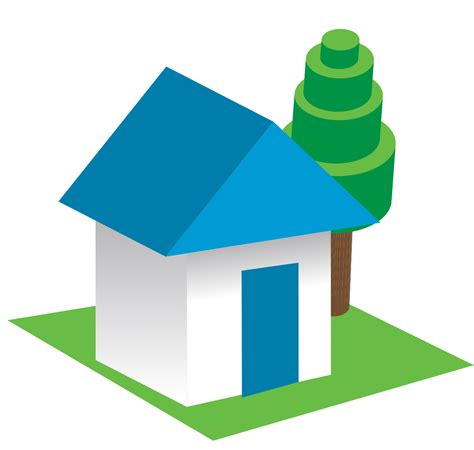 3d house clip cliparts co