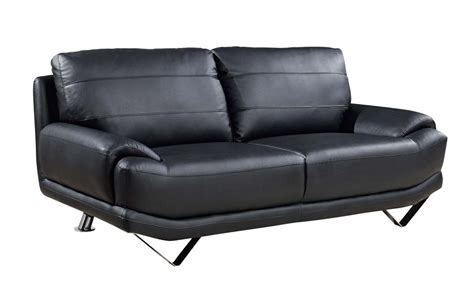 black sofa legs global furniture usa 4030 sofa set black bonded leather