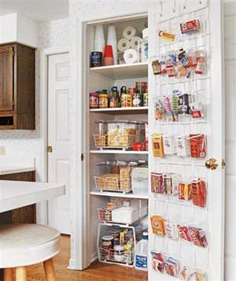 Small Kitchen Pantry Solutions by