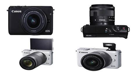 Kamera Canon M10 Mirrorless canon eos m10 kamera mirrorless dengan fitur canggih