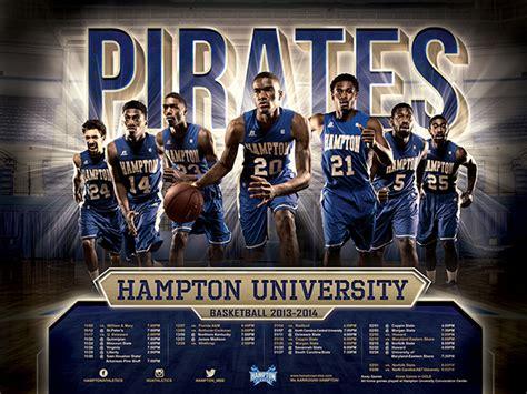 uk basketball schedule poster hampton university posters on behance