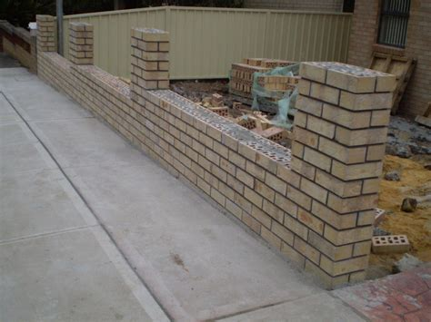 front yard brick fence designs front brick fence how to make fence